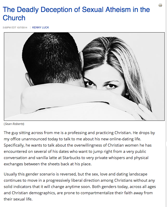 Sex and dating in the christian life