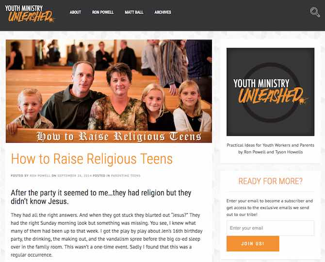How to Raise Religious Teens