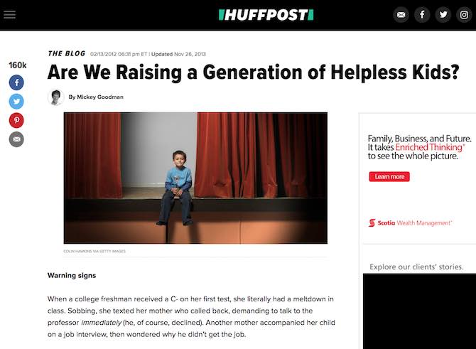 Are We Raising a Generation of Helpless Kids?
