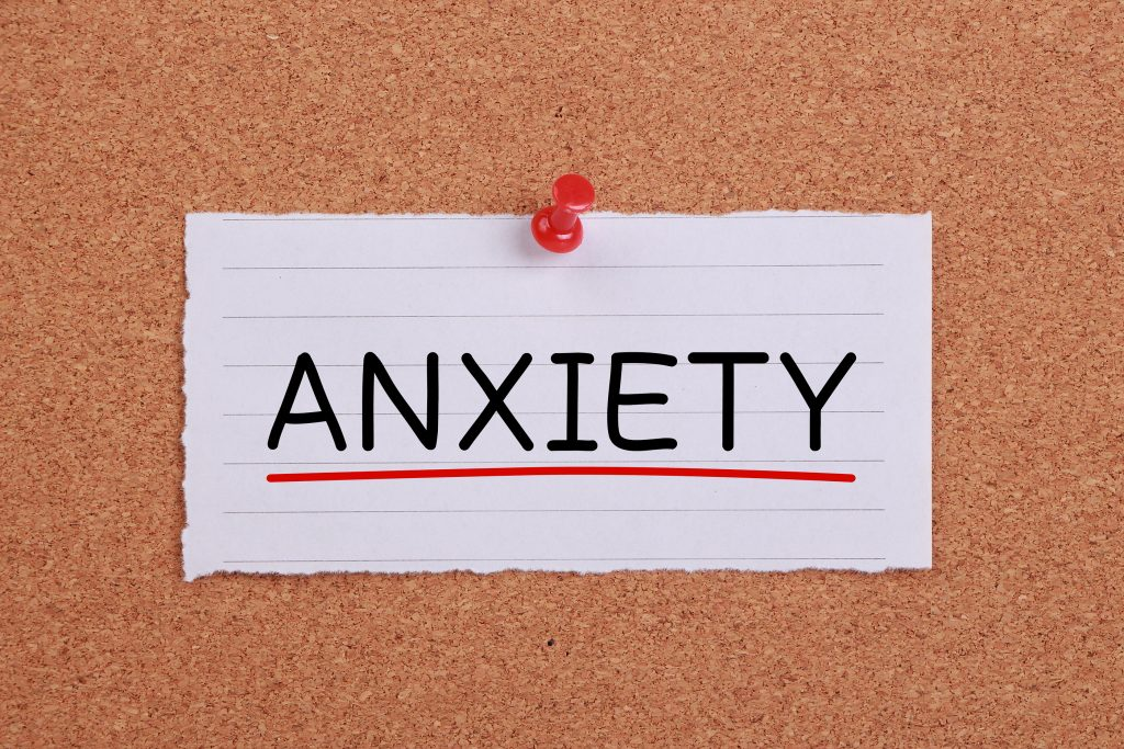 Anxiety in a church service