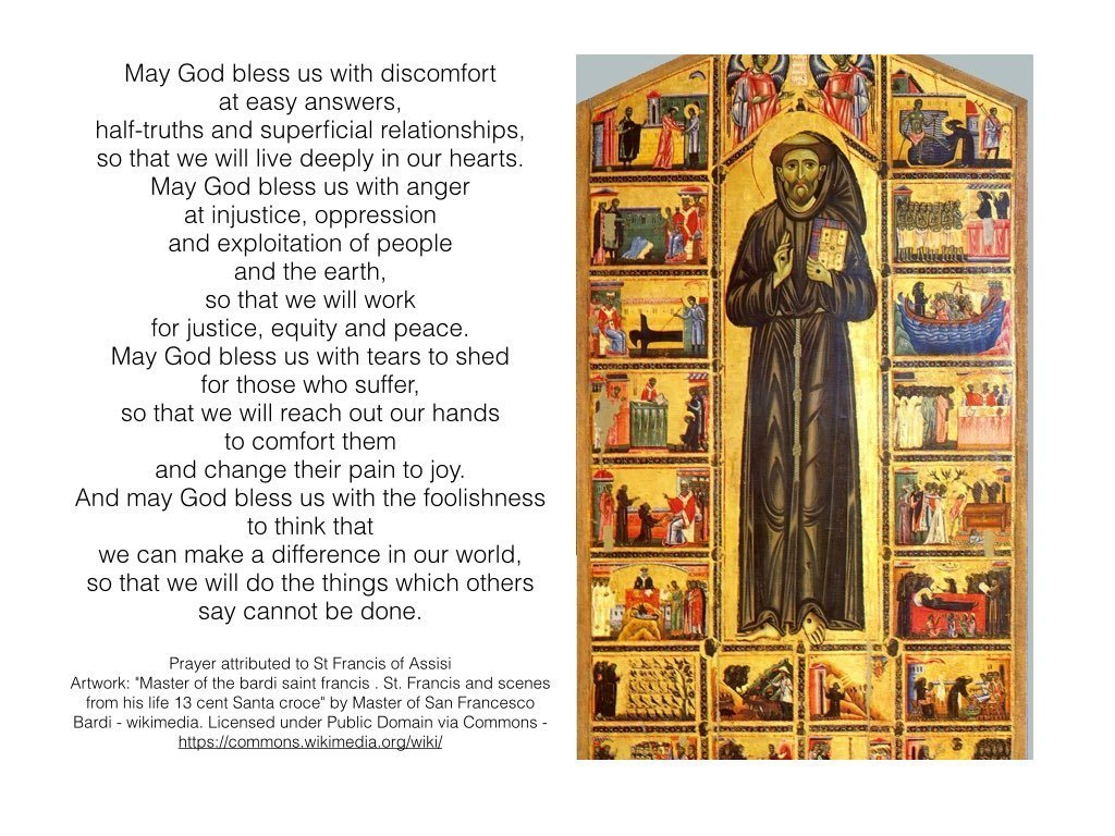 St Francis of Assisi – A Prayer for the Week