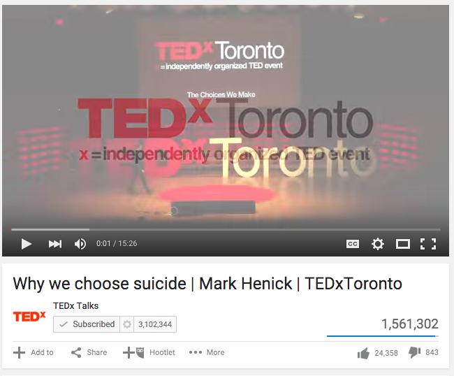 Why we choose suicide | Mark Henick | TEDxToronto