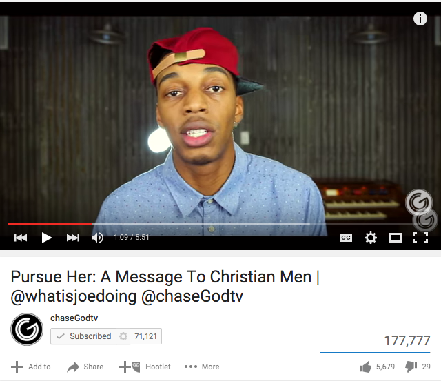 Pursue Her: A Message To Christian Men | @whatisjoedoing @chaseGodtv