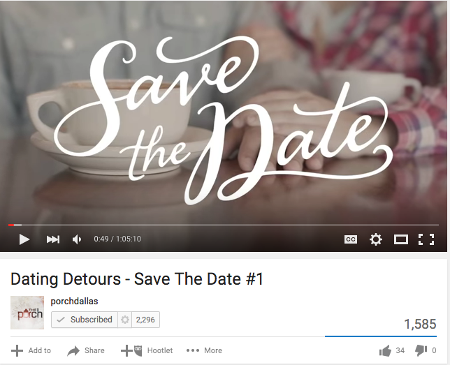 Dating Detours – Save The Date Series: Jonathan Pokluda