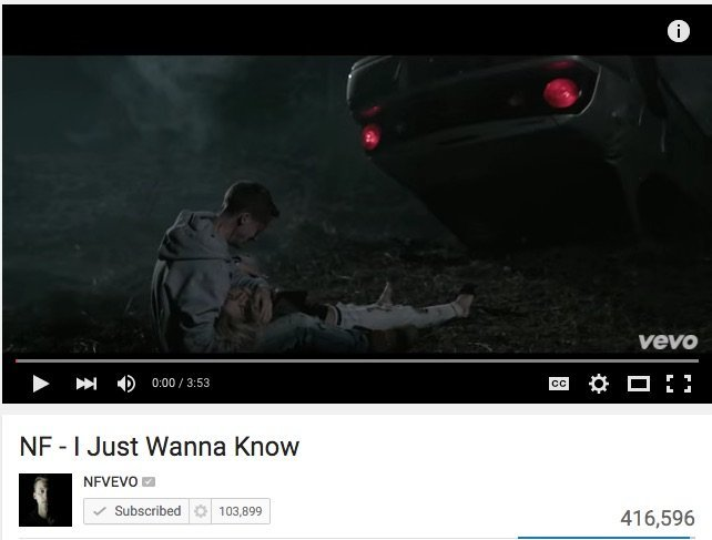 Music Videos: NF – I Just Wanna Know