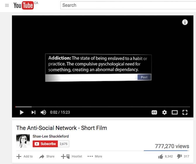 The Anti-Social Network – Short Film