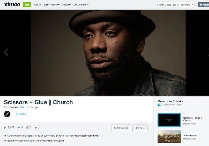 Scissors + Glue || Church