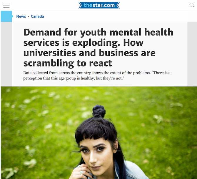 Demand for youth mental health services is exploding. How universities and business are scrambling to react