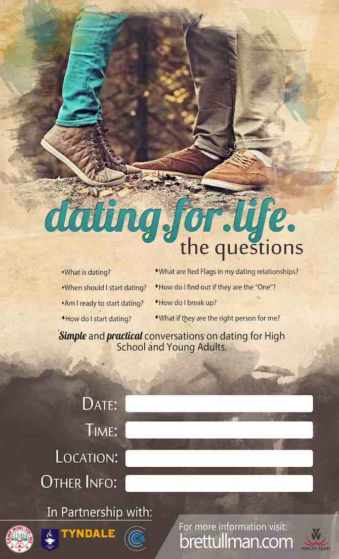 Brett Ullman: Presentations – dating.for.life the questions