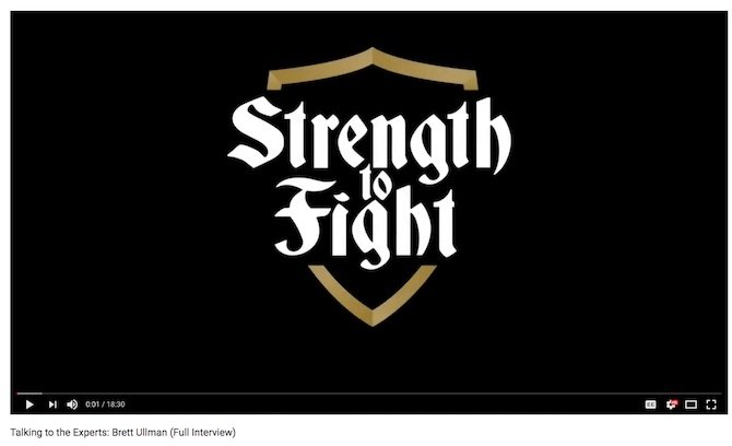 Strength to Fight: Talking to the Experts interview