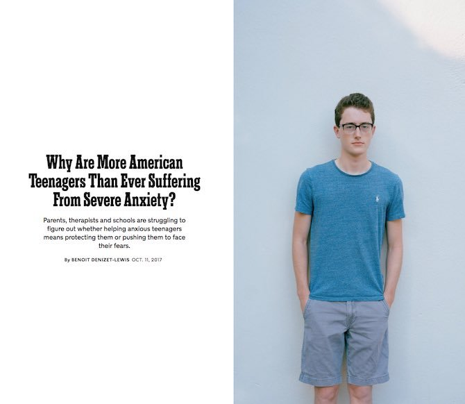 Why Are More American Teenagers Than Ever Suffering From Severe Anxiety?