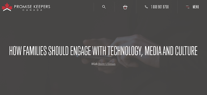 How Families Should Engage With Technology, Media and Culture