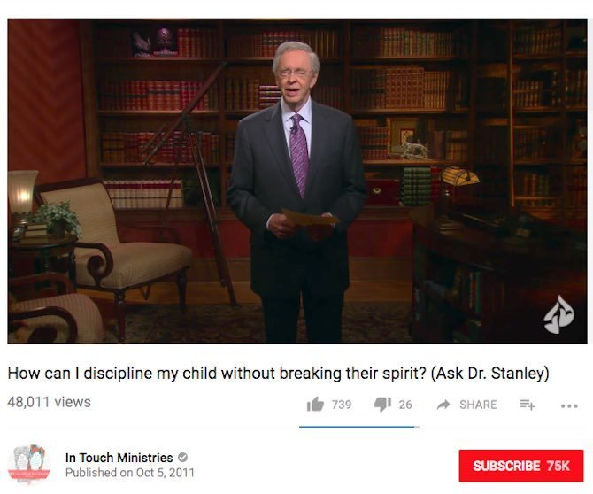 How can I discipline my child without breaking their spirit? (Ask Dr. Stanley)