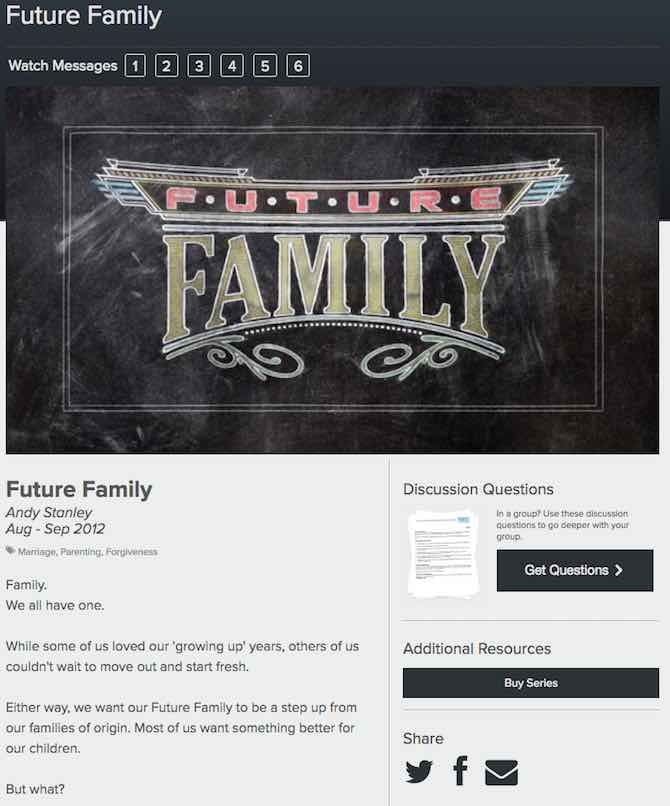 Future Family – Andy Stanley