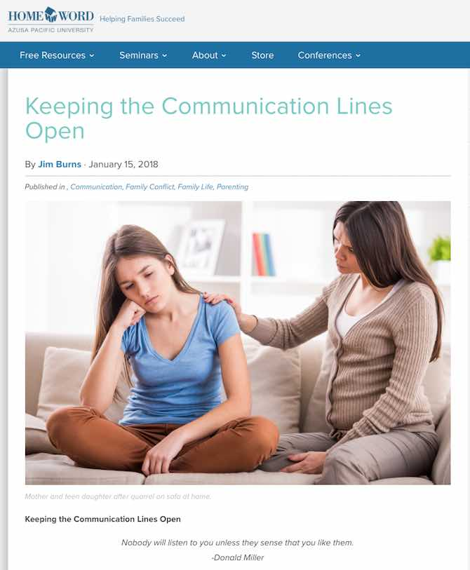 Keeping the Communication Lines Open