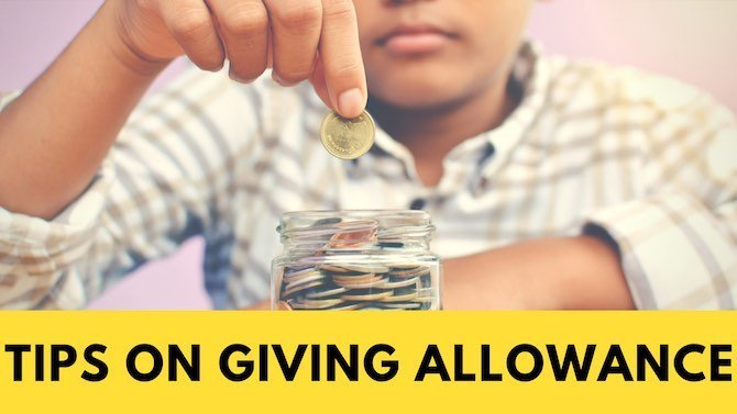 Tips on giving allowance. How we did this in our house.