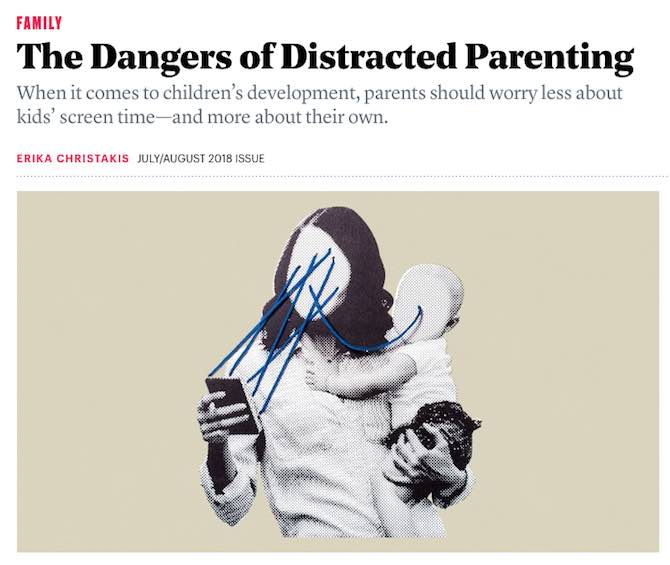 The Dangers of Distracted Parenting