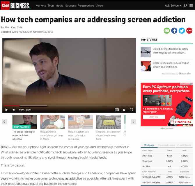How tech companies are addressing screen addiction
