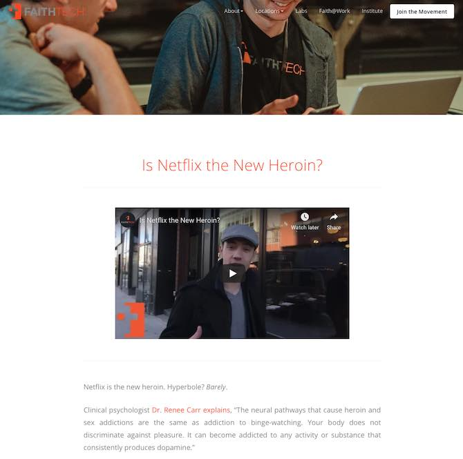 Is Netflix the New Heroin?