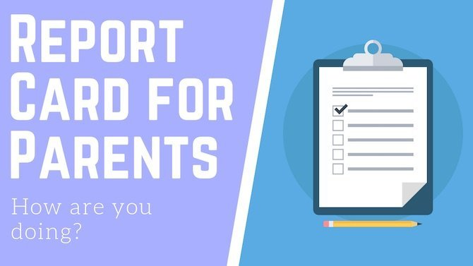 Report Card for Parents