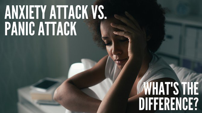 Anxiety attack vs. panic attack?
