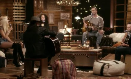 "Alicia Keys, Adam Levine, Blake Shelton, and Gwen Stefani ""Waterfalls'"