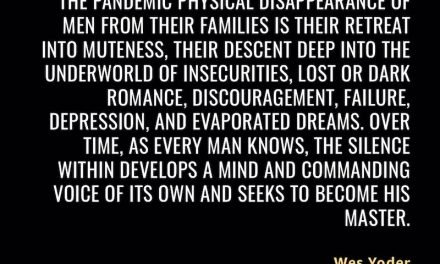 Great quote: Wes Yoder – Bond of Brothers