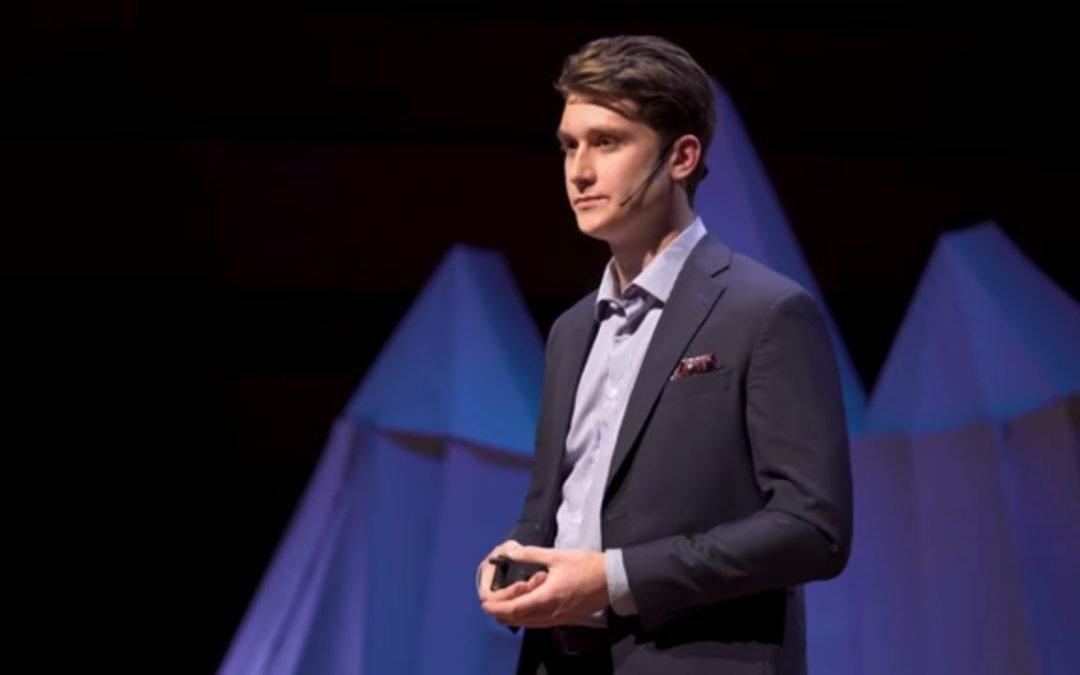 Reimagining masculinity; my journey as a male sexual assault survivor | Landon Wilcock | TEDxQueensU