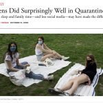 Teens Did Surprisingly Well in Quarantine