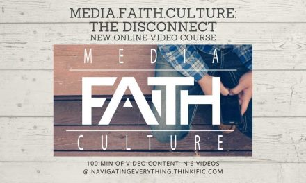 New online course – media.faith.culture – the disconnect