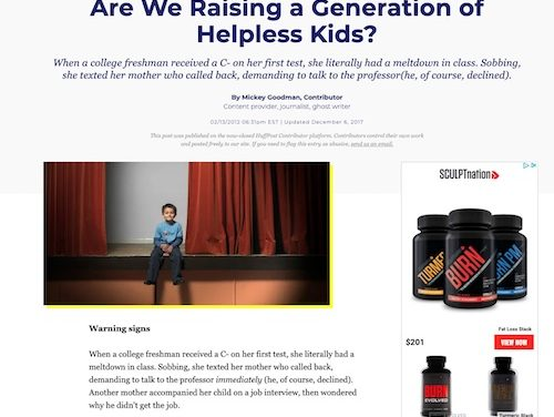 Are we Raising a Generation of Helpless Kids? Great Parenting Tips