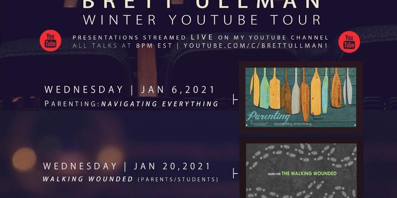 Brett Ullman – Winter Youtube Tour: 6 talks