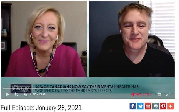 100 Huntley Street: New Mental Health interview