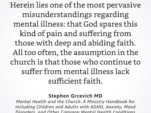 Great Quote: Stephen Grcevich – Mental Health Quote