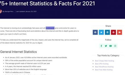 75+ Internet Statistics & Facts For 2021